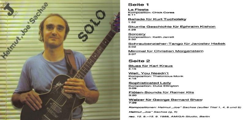 Helmut Joe Sachse Solo